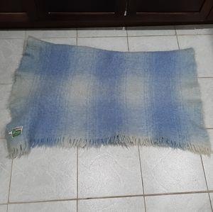 Vintage Eaton's mohair throw blanket